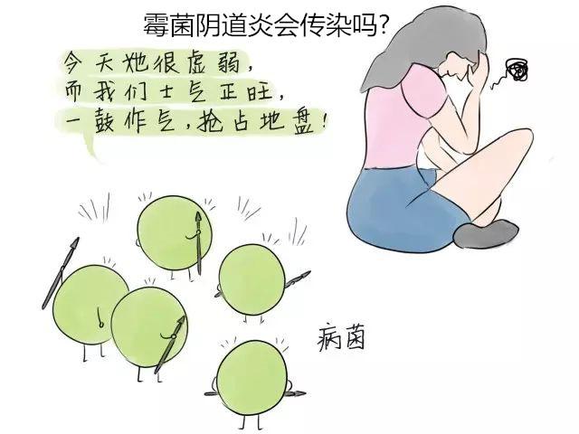 霉菌阴道炎会传染吗_科普│5种女性患霉菌阴道炎传染途径!